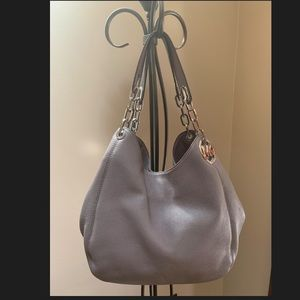 Michael Kors Grey and Siver tote
